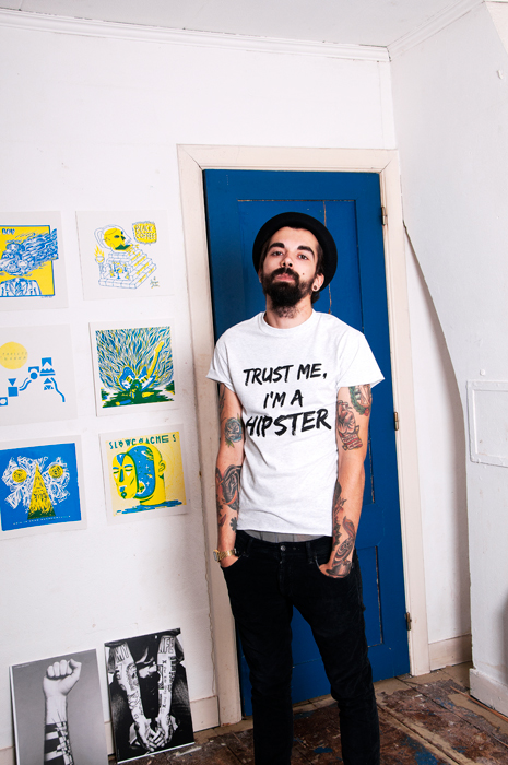 Trust me I'm a Hipster shirt Nuno Filipe Mendes