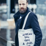 Leaving you for a girl tote bag
