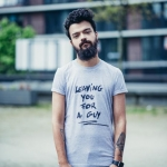 Leaving you for a guy T-shirt